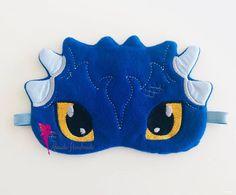 Dragon Sleep Mask, Eye Mask for Boys, Custom Eye mask, Fun travel gift Best Travel Gifts, Fun Travel, Custom Eyes, Pajama Party, Polar Fleece, Sleep Mask, Gifts For Family, Fabric Crafts, Boy Outfits