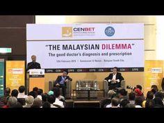 """The Malaysian Dilemma"" - Talk and Dialogue with Tun Dr Mahathir Mohamad. Mahathir Mohamad, Good Doctor, Good Things, News, Music, Youtube, Musica, Musik, Muziek"