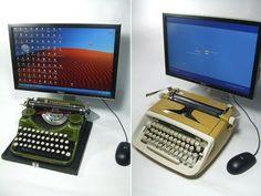 The USB typewriter #keyboard... feel like a REAL writer!