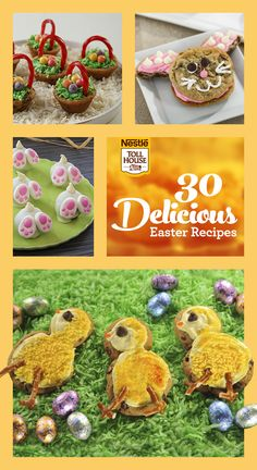 Make it a holiday to remember with these deliciously simple Easter recipes. Discover everything from Chocolate Chip Easter Basket to these adorable Chipper Chick Easter Cookies. Perfect for making together with your kids! Click through to discover the full recipes.