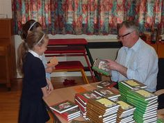 Jack Trelawny Free School Author Visit to St Ippolyts Primary School. To book a visit, email Jane Bennett, Events Manager: info@campionpublishing.com
