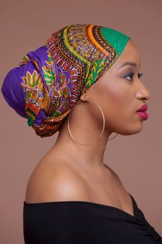 African Head Scarf, African Head Wraps, African Hair, Hair Wrap Scarf, Head Scarf Tying, Head Scarf Styles, African American Women, African Americans, African Beauty