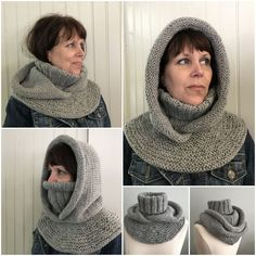 - Orion Arctic Chill pattern by Grace Rose -Größe Archives - Orion Arctic Chill pattern by Grace Rose - Ravelry: Arctic Chill II pattern by Grace Rose Hat Knitting Pattern Hood Knitting Pattern Arctic Chill Hat Knit Cowl, Knitted Shawls, Crochet Scarves, Crochet Shawl, Crochet Clothes, Knit Crochet, Knitting Scarves, Crochet Hooded Cowl, Hooded Scarf Pattern