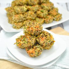 Veggie Quinoa Baby Bites   Healthy and easy recipe perfect for baby led weaning, toddler & kid-friendly meals or snacks. Versatile, customizable & portable.