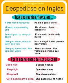 APRENDE A DESPEDIRTE EN #INGLÉS  #elinglesdesila #silaingles #expresiones #learnenglish #vocabulary #despedirse
