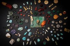 A Sorceress's Kit Was Discovered in the Ashes of Pompeii ~ The box of small trinkets was likely used to perform fertility and love rituals and to look for omens about birth and pregnancy. Pliny The Younger, Pompeii And Herculaneum, Ancient Pompeii, Pompeii Italy, Thing 1, Satyr, Archaeological Site, Greek Gods, Lucky Charm
