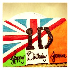 One direction cake for a birthday
