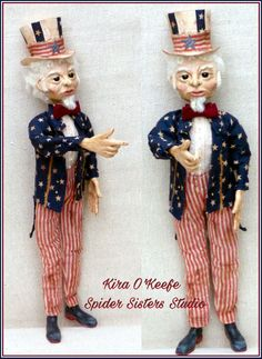 www.spidersisters.com  Uncle Sam