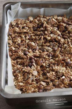 Granola maison sans sucre ajouté – Mes brouillons de cuisine