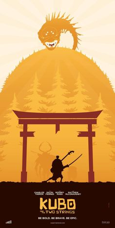 Kubo and the Two Strings Poster - Created by Julien Rico Jr