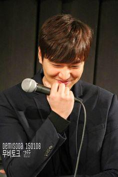 "Lee Min Ho - ""Gangnam Blues"" LIVE MOVIE TALK WITH NAVER - 08.01.2015"