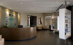 Reception. KAO. Designed by SDI Interior Design.