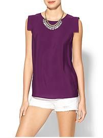 Tinley Road Erin Top. Clearly, for work I'd pair this w/ trousers.