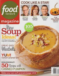 Food Network Magazine- I think overall one of the better food magazines available.