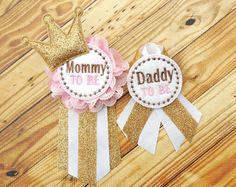 Hey, I found this really awesome Etsy listing at https://www.etsy.com/listing/272430730/mommy-to-be-corsage-daddy-to-be-corsage
