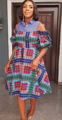 Ankara Short Gown, Short African Dresses, Ankara Gown Styles, Ankara Gowns, Short Gowns, African Print Dresses, Maxi Gowns, African Fashion Ankara, Latest African Fashion Dresses