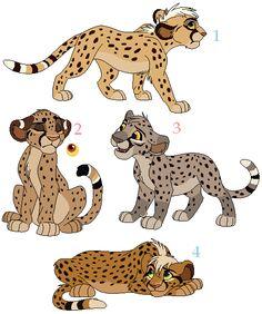 Cheetah adoptables [CLOSED]