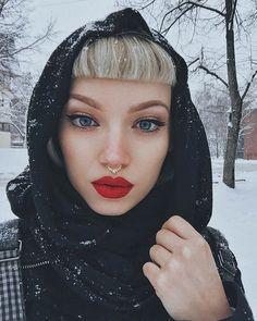 First snow this year ❄️ @deerdesignsaus  #makeup