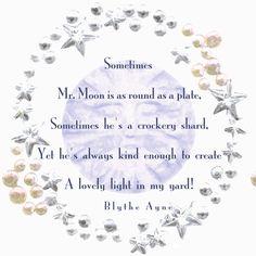 Mr. Moon-Blythe Ayne fabric by blythe on Spoonflower - custom fabric