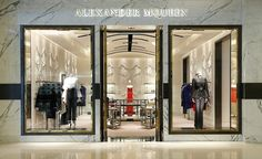 Alexander McQueen opens new flagship store in Shanghai at IAPM Mall, Xuhui District