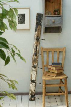 イギリスアンティーク壁掛けコートフック6連ディスプレイ1152 Antique wall hook ¥14000yen 〆04月18日