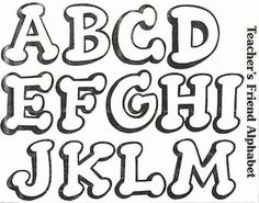 Moldes Letras Para Carteles Feliz Cumpleanos Graffiti Wallpaper More - Hand Lettering Alphabet, Alphabet Stencils, Doodle Lettering, Script Lettering, Calligraphy Fonts, Graffiti Tattoo, Graffiti Lettering, Creative Lettering, Easy Graffiti