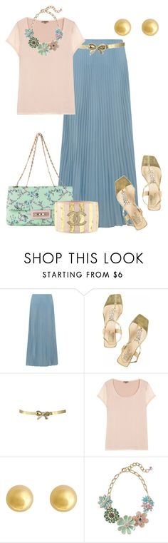 """""""MAXIFALDAS"""" by outfits-de-moda2 ❤ liked on Polyvore featuring Alice & You, Blugirl, Pedro García, Jigsaw, J by Jasper Conran, Sequin and Chanel"""