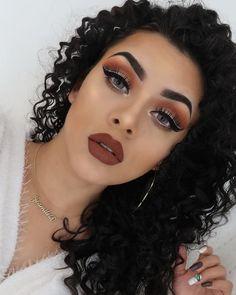 Glam Makeup Look, Day Makeup, Makeup Goals, Makeup Inspo, Makeup Art, Makeup Inspiration, Beauty Makeup, Makeup Ideas, Makeup 2018