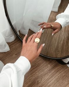 Image discovered by venla. Find images and videos about fashion, style and nails on We Heart It - the app to get lost in what you love. Classy Aesthetic, Beige Aesthetic, White Almond Nails, Nail Photos, Jewelry Photography, Photography Tips, Photo Jewelry, Aesthetic Pictures, Fashion Details