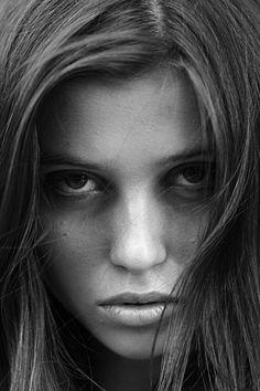 portrait photography | ... white women portrait1 Beautiful black and white women portrait photos