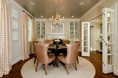 GREEN with Envy: LEED Certified Whole House Renovation - traditional - dining room - dc metro - Harry Braswell Inc.
