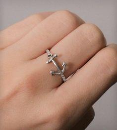Nautical Anchor Ring