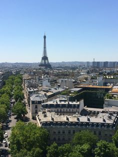 Went to Paris last summer great view from arcde triomphe