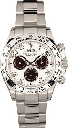 Rolex Daytona White Gold 116509 Panda Dial
