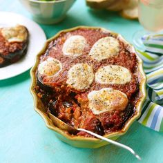 Aubergine Parmigiana recipe: a beautifully baked Italian classic. Find more speedy suppers over on prima.co.uk