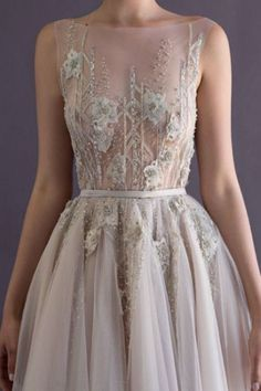 blue wedding gown // wedding dress // bridal inspiration // sheer // beading