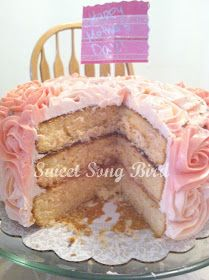 Sweet Song Bird: Gluten-Free Fridays: Week 2-GF Vanilla Cake Recipe