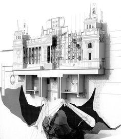 'Microcosmic City' by Alexander Flint and Gareth Bansorm 2007 | via Future Proof Designs