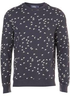 'Swallows' Sweatshirt from Topman