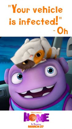 Home is a heartfelt comedic adventure that is great for the whole family! Can't wait to see this!!