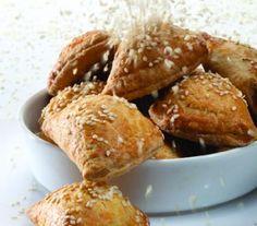 Τυροπιτάκια με ζύμη κουρού | Dina Nikolaou