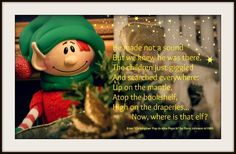 """Christopher Pop-In-Kins is the classic hide-and-seek elf tradition created by Flora Johnson in 1985.  This adorable elf pops in for a holiday visit from late November to Christmas Eve.  He returns to the North Pole on Christmas Eve to tell Santa about his young friends and holiday adventures in the Children's World.  Each Christopher Pop-In-Kins Fun Set includes a Christopher Elf, """"Christopher Pop-In-Kins Pops In"""" storybook, and storage case.  www.elffun.com"""