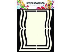 Dutch Doobadoo Holländische Kunst Form A5 Buch