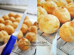 Part 2 – Making Choux Pastry for profiteroles (cream puffs)! This is actually one of the easiest, quickest things to make. It requires a little arm power, especially if you're making …
