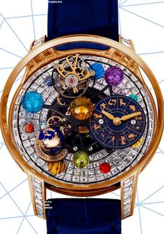 Jacob & Co. Astronomia Solar Baguette Jewellery Planets Zodiac - Women's fashion and Women's Bag trends Patek Philippe, Astronomical Watch, Richard Mille, Skeleton Watches, Limited Edition Watches, Expensive Watches, Hand Watch, Gold Earrings Designs, Cool Watches