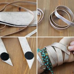 Metallic Cuff | 27 DIY Fashion Ideas That Will Save You Lots Of Cash