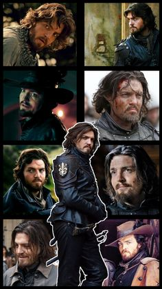 I needed a nice phone background, so voila Bbc Musketeers, The Three Musketeers, Gothic Fashion Men, Tom Burke, Movie Tv, Tv Series, Tv Shows, Nerd, Hilarious
