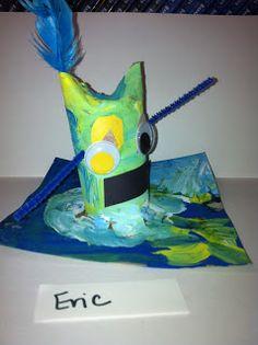 ChumleyScobey Art Room: Kindergarten Monster Sculptures