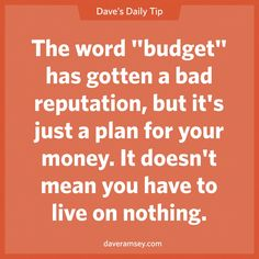 Budget doesn't mean cheap it just means intentional.