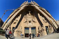 Entrance to Sagrada Familia  Please........ Like, repin   Share. 1000 Tanks!!